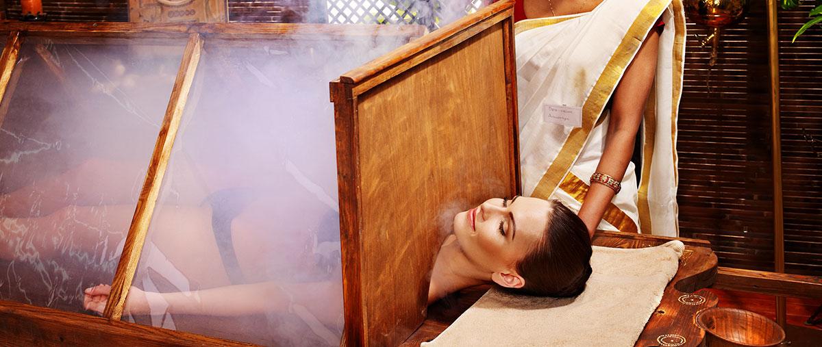 ayurveda steam bath